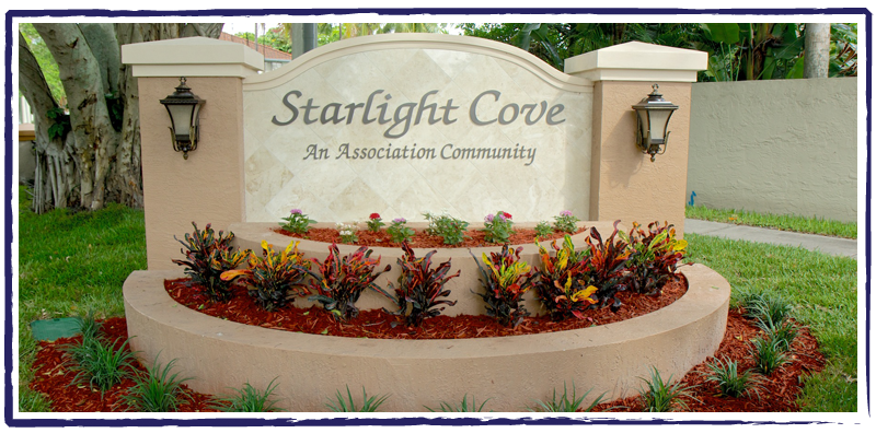 Starlight Cove new monument
